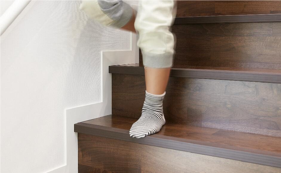 滑り止めクッション階段(イメージ写真)